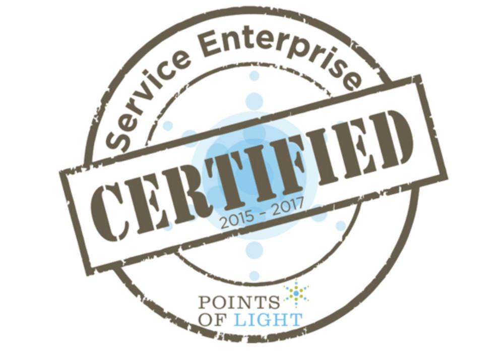 Points of Light Certified Service Enterprise Organization