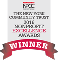 NPCC 2016 Nonprofit Excellence Award Winner